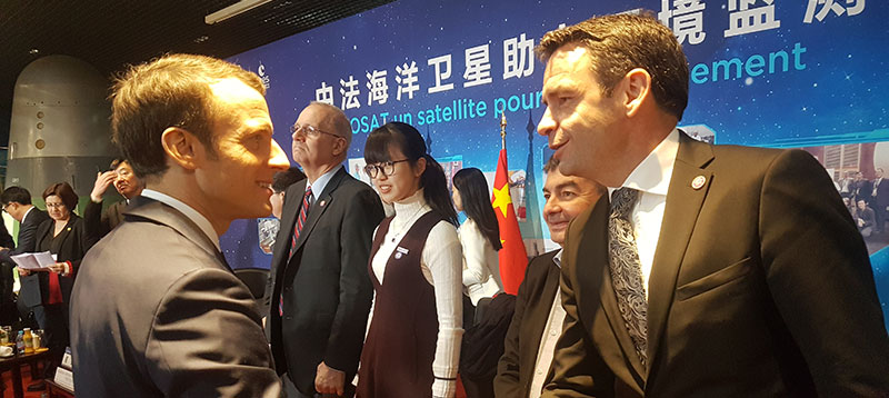 Environnement S.A, part of president Macron's delegation to China