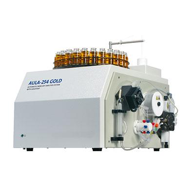 Automatic mercury analyzer for the laboratory