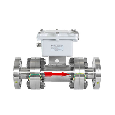Flow measurement for dense-phase conveying