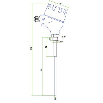 Compact sensor for Broken Bag Detection