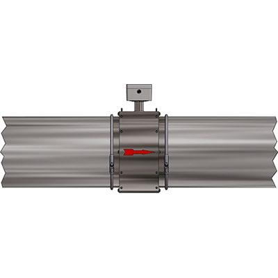 Velocity measurement, material transport
