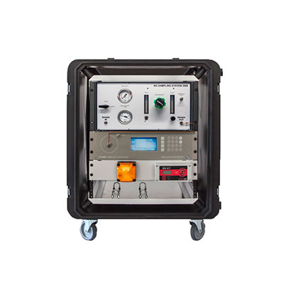 Mobile Mercury Ultratrace analyzer for natural gas
